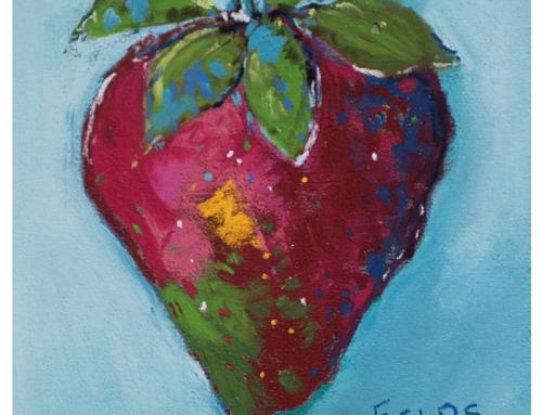 Strawberry – Texas Artist Bethany Fields
