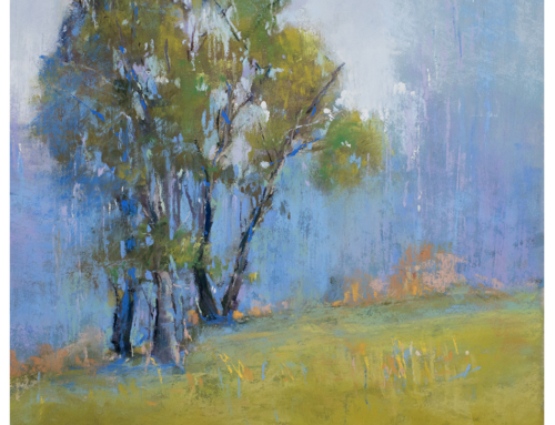 Ethereal Afternoon – Soft Pastel Painting by Bethany Fields