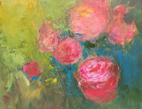 Miss Havisham's Roses – Texas Acrylic Artist