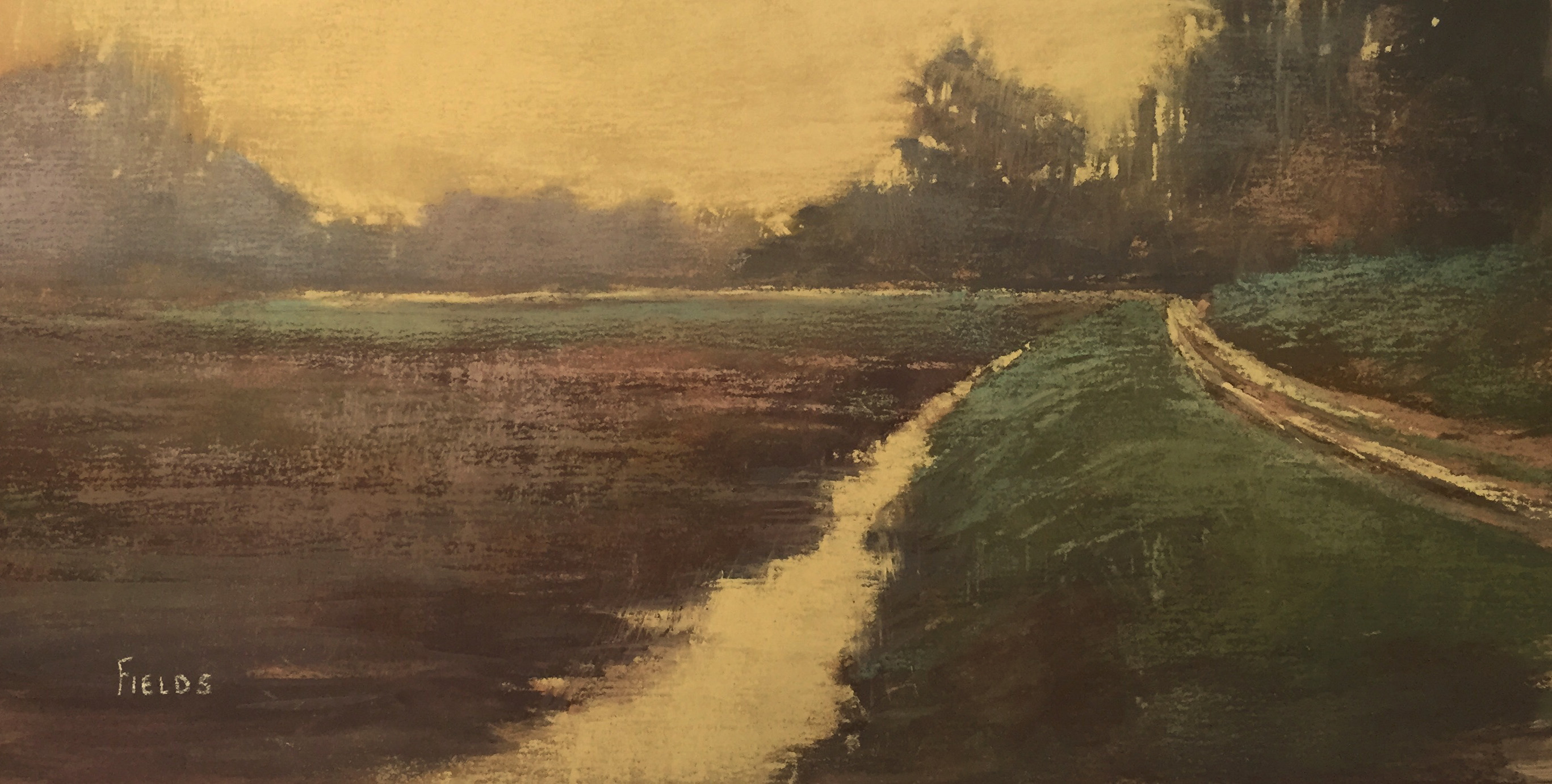 pastel painting by Bethany Fields