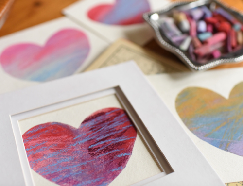 Kids in the Studio – Pastel Valentine Heart