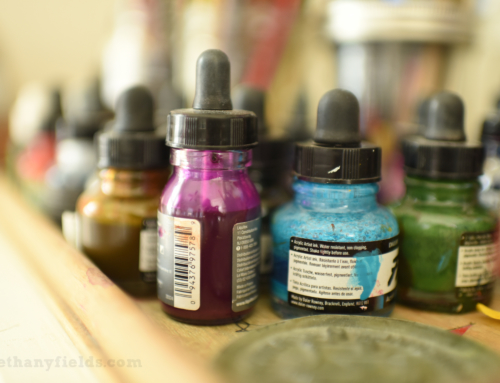 Q & A: Alcohol and Acrylic Ink